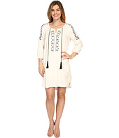 B Collection by Bobeau - Flynn Embroidered Tunic Dress