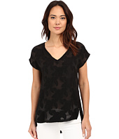 B Collection by Bobeau - Chloe Mixed Media T-Shirt