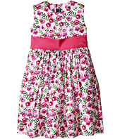 Oscar de la Renta Childrenswear - Spring Pansies Cotton Party Dress (Toddler/Little Kids/Big Kids)