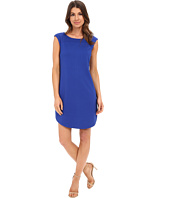 Laundry by Shelli Segal - Cap Sleeve Sheath Dress with Seaming