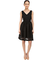 Kate Spade New York - Ribbon Organza Fit and Flare Dress