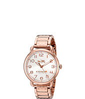 COACH - Delancey 36mm Etched Bracelet Watch