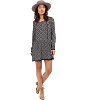 ONLY - Nena Long Sleeve Lace All Over Print Dress