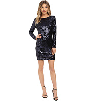 Jessica Simpson - Long Sleeve Sequin Dress