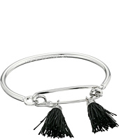 French Connection - Safety Pin Hook Bangle w/ Tassel Bracelet