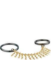 French Connection - Chain Fringe Double Ring