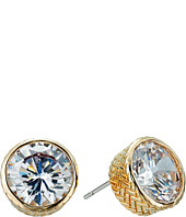Cole Haan - Round CZ Stud Earrings