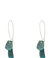 Robert Lee Morris - Patina Long Drop Earrings