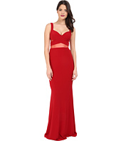 Faviana - Jersey Gown w/ Illusion Cut Outs 7744