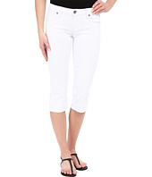 KUT from the Kloth - Basic Five-Pocket Crop Jeans in Optic White