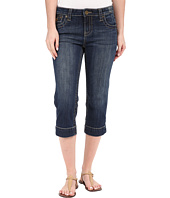 KUT from the Kloth - Natalie Crop Jeans in Vagos Wash