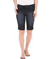 KUT from the Kloth - Natalie Bermuda Shorts in Direct w/ Dark Stone Base Wash