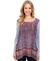 Miraclebody Jeans - Kyra Keyhole Tunic w/ Body-Shaping Inner Shell
