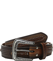 M&F Western - Basketweave Star Concho Belt