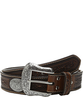 M&F Western - Large Oval Concho Embossed Belt