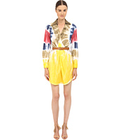 DSQUARED2 - Cotton Poplin Tie-Dye Shirtdress