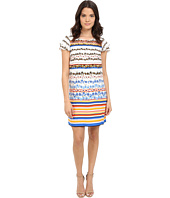 kensie - Floral Stripes Dress KS4K7925