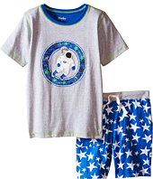 Hatley Kids - Astronauts In Space Tee & Shorts Set (Toddler/Little Kids/Big Kids)