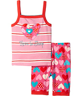 Hatley Kids - Crazy Hearts Tank PJ Set (Toddler/Little Kids/Big Kids)