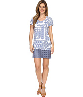 Tommy Bahama - Stamped Medallion T-Shirt Dress Cover-Up