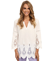 NYDJ - Embroidered Eyelet Tunic