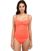 La Blanca - Island Goddess Over the Shoulder Sweetheart Mio One-Piece