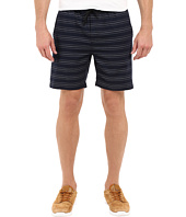 Kenneth Cole Sportswear - Horizontal Stripe Pull-On Shorts