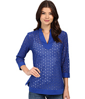 Christin Michaels - Vienne Eyelet Top