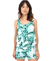 Jack by BB Dakota - Barnabus Tropical Bliss Printed Rayon Crepe Top