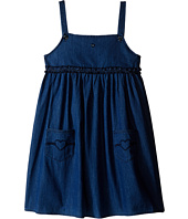 Armani Junior - Two-Pocket Dress with Ruffle Detail (Toddler/Little Kids/Big Kids)