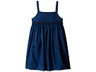 Two-Pocket Dress with Ruffle Detail (Toddler/Little Kids/Big Kids)