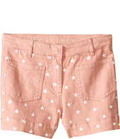 Stella McCartney Kids - Alicia Star Embroidered Denim Shorts (Toddler/Little Kids/Big Kids)