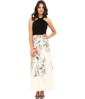Christin Michaels - Nadya Twist Front Maxi Dress