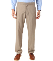 Perry Ellis - Solid Texture Flat Front Suit Pants