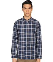 Vince - Double Face Square Hem Long Sleeve Melrose Shirt
