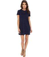 Michael Stars - Linen Knit Short Sleeve Tee Dress w/ Slip