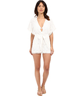 6 Shore Road by Pooja - La Paz Lace Romper Cover-Up