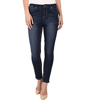 Liverpool - Anthem Curvy Piper Contour 4-Way Stretch Denim Ankle Jeans in Orion Medium Dark Indigo
