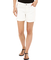 Liverpool - Vickie Lightweight Denim Shorts in Bright White