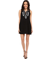 Brigitte Bailey - Aprilia Lace-Up Shift Dress