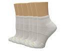 Air Cushion 6-Pair Pack Quarter Top 3D Sole