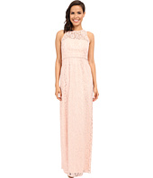 Donna Morgan - Harper Illusion Neck Lace Long Gown