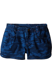 Carhartt Kids - Denim Camo Shorts (Big Kids)