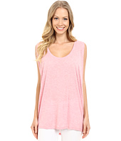 Lilla P - Soft Draped Sleeveless Side Draped Top
