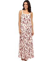 Brigitte Bailey - Candice Floral Maxi Dress with Lace Trim