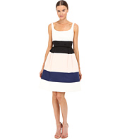 Kate Spade New York - Color Block Satin Faille Dress