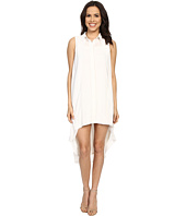 Brigitte Bailey - Siomara Sleeveless High-Low Dress with Collar