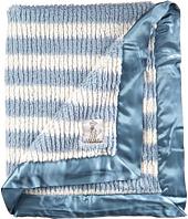 Little Giraffe - Luxe Rib Stripe Blanket