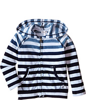 Splendid Littles - Striped Dip Dye Indigo Zip-Up Hoodie (Little Kids/Big Kids)