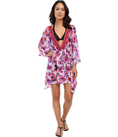 SAHA - Flora Mesh Kaftan Cover-Up
